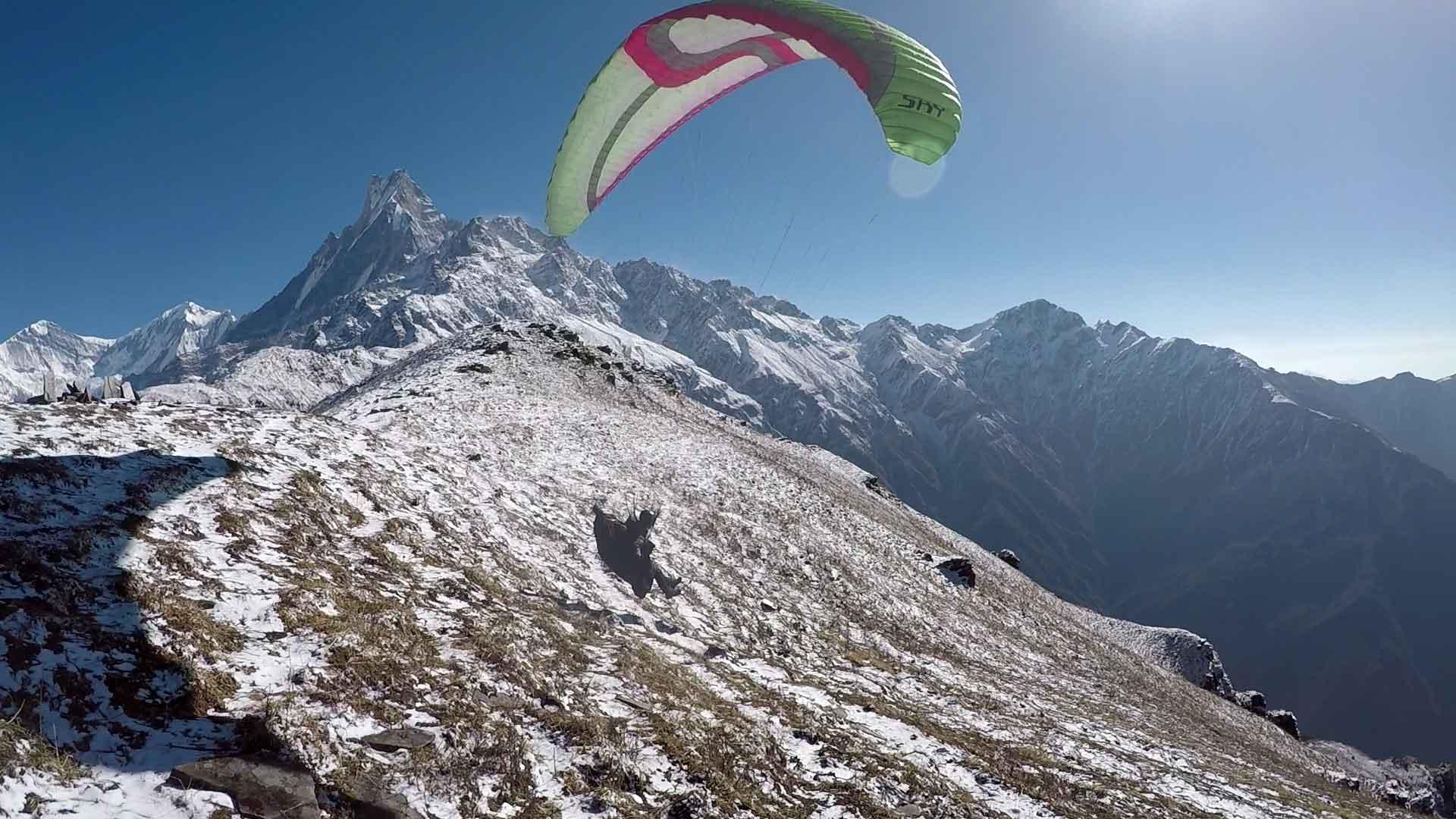Nepal Gleitschirmreise
