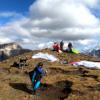 Dolomiten Streckenflug